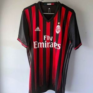 Authentic AC Milan Men's 2016-2017 Players Jersey
